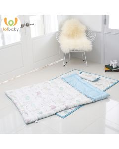 Set đệm ngủ cotton Maman Blue